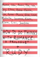 How to do things with romance: a prologue + RUDY