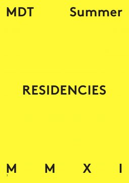 MDT Summer Residencies 2011